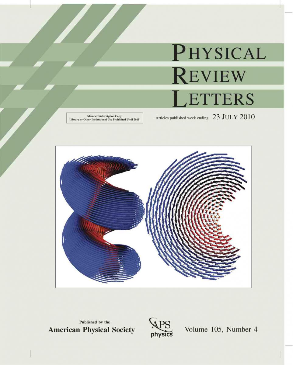 physical review letters polymer science and engineering 41072